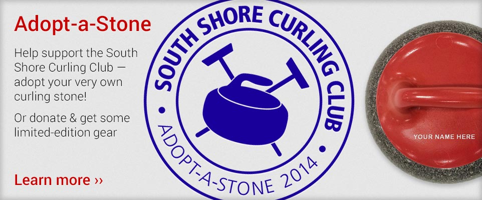 Adopt a Stone and Help Support the South Shore Curling Club